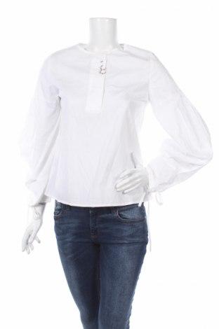 Дамска блуза Mango, Размер S, Цвят Бял, Памук, Цена 11,40лв.