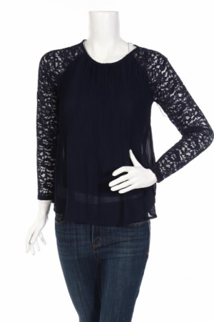 Дамска блуза Scarlet Jones, Размер S, Цвят Син, 95% полиестер, 5% еластан, Цена 10,75лв.