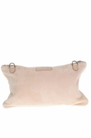 Дамска чанта Liebeskind, Цвят Розов, Естествен велур, Цена 54,75лв.
