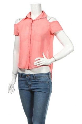 Дамска риза BCBGeneration, Размер S, Цвят Розов, Полиестер, Цена 6,72лв.