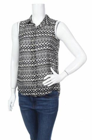 Γυναικείο πουκάμισο H&M, Μέγεθος XXS, Χρώμα Μαύρο, Πολυεστέρας, Τιμή 4,49€