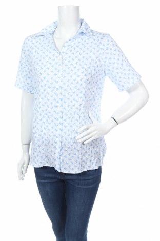 Дамска риза Isle, Размер M, Цвят Син, 65% полиестер, 35% памук, Цена 4,75лв.