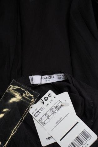 Дамска риза Mango, Размер XS, Цвят Сив, Полиестер, Цена 6,48лв.