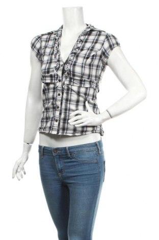 Дамска риза Tally Weijl, Размер M, Цвят Многоцветен, 68% памук, 29% полиестер, 3% еластан, Цена 5,61лв.