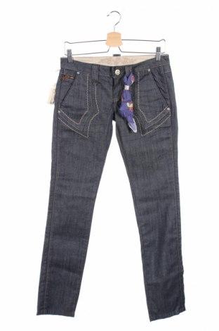 Γυναικείο Τζίν Bandits Du Monde, Μέγεθος S, Χρώμα Μπλέ, 98% βαμβάκι, 2% ελαστάνη, Τιμή 18,58€