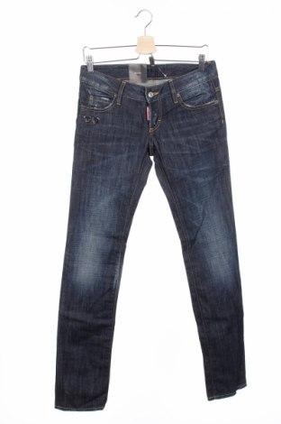 Γυναικείο Τζίν Dsquared2, Μέγεθος S, Χρώμα Μπλέ, Βαμβάκι, Τιμή 61,60€