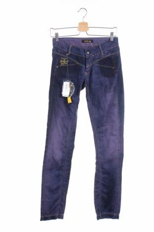 Дамски дънки Killah, Размер S, Цвят Син, 98% памук, 2% еластан, Цена 21,32лв.