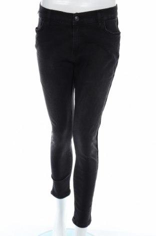Дамски дънки Ltb, Размер L, Цвят Черен, 99% памук, 1% еластан, Цена 28,70лв.