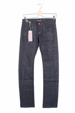 Дамски дънки Miss Sixty, Размер XS, Цвят Син, 98% памук, 2% еластан, Цена 23,92лв.