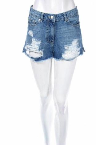 Дамски къс панталон Parisian, Размер M, Цвят Син, Памук, Цена 25,52лв.