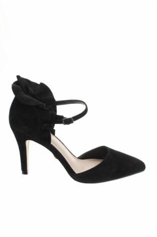 Γυναικεία παπούτσια Buffalo, Μέγεθος 38, Χρώμα Μαύρο, Φυσικό σουέτ, Τιμή 16,62€