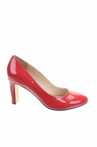 Дамски обувки Buffalo, Размер 36, Цвят Червен, Естествена кожа, Цена 77,40лв.