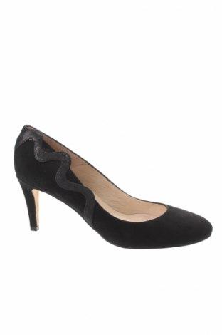 Γυναικεία παπούτσια Elodie, Μέγεθος 41, Χρώμα Μαύρο, Γνήσιο δέρμα, φυσικό σουέτ, Τιμή 18,40€