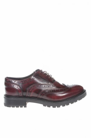 Dámské boty  Frank Daniel, Rozměr 37, Barva Červená, Pravá kůže, Cena  830,00Kč