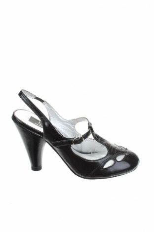 Γυναικεία παπούτσια Lpb Les P'tites Bombes, Μέγεθος 36, Χρώμα Μαύρο, Δερματίνη, Τιμή 12,06€