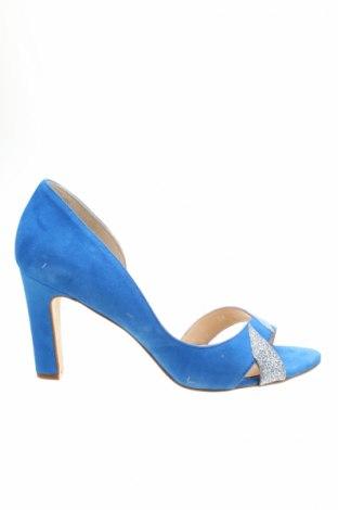 Dámské boty  Mellow Yellow, Rozměr 38, Barva Modrá, Přírodní velur , textile , Cena  778,00Kč
