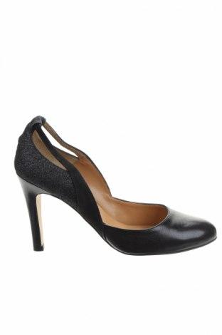 Γυναικεία παπούτσια Mellow Yellow, Μέγεθος 39, Χρώμα Μαύρο, Γνήσιο δέρμα, Τιμή 21,55€