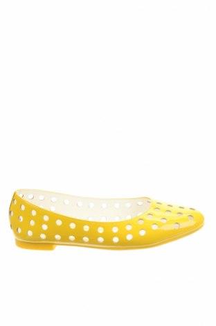 Γυναικεία παπούτσια Mellow Yellow, Μέγεθος 36, Χρώμα Κίτρινο, Γνήσιο δέρμα, Τιμή 25,65€