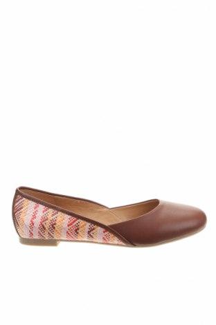 Дамски обувки Mellow Yellow, Размер 38, Цвят Кафяв, Естествена кожа, еко кожа, Цена 52,25лв.