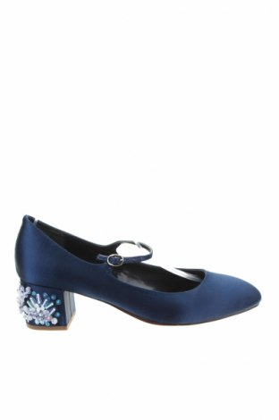 Γυναικεία παπούτσια Mellow Yellow, Μέγεθος 40, Χρώμα Μπλέ, Κλωστοϋφαντουργικά προϊόντα, Τιμή 25,00€