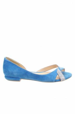 Дамски обувки Mellow Yellow, Размер 37, Цвят Син, Естествен велур, Цена 97,90лв.