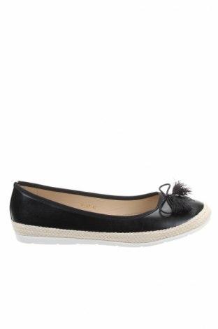 Γυναικεία παπούτσια W.S Shoes, Μέγεθος 40, Χρώμα Μαύρο, Δερματίνη, Τιμή 10,67€
