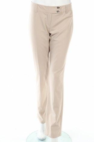 Дамски панталон Artigli, Размер L, Цвят Бежов, 68% полиестер, 26% вискоза, 6% еластан, Цена 23,32лв.