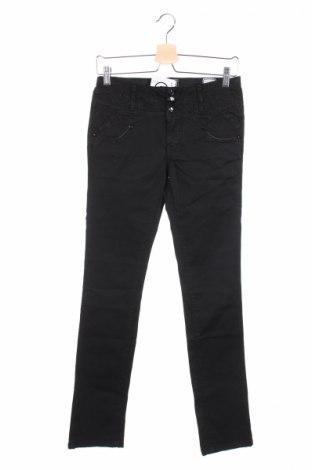 Γυναικείο παντελόνι Bandits Du Monde, Μέγεθος XS, Χρώμα Μαύρο, 98% βαμβάκι, 2% ελαστάνη, Τιμή 18,58€