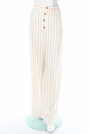 Pantaloni de femei Boohoo, Mărime L, Culoare Ecru, Viscoză, Preț 63,95 Lei