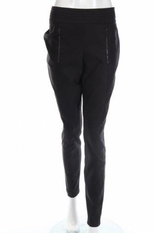 Γυναικείο παντελόνι Comma,, Μέγεθος L, Χρώμα Μαύρο, 50% πολυεστέρας, 47% βαμβάκι, 3% ελαστάνη, Τιμή 23,51€