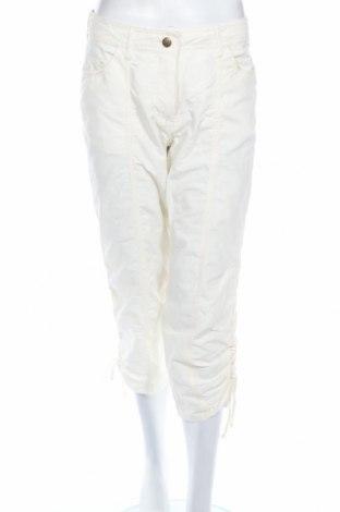 Дамски панталон Esmara, Размер S, Цвят Екрю, 70% памук, 30% полиамид, Цена 6,67лв.