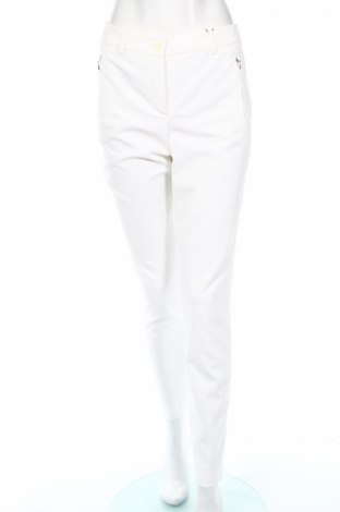 Дамски панталон Madeleine, Размер M, Цвят Бял, 88% полиестер, 8% вискоза, 4% еластан, Цена 28,00лв.