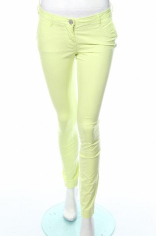 Γυναικείο παντελόνι Maison Scotch, Μέγεθος XS, Χρώμα Πράσινο, 98% βαμβάκι, 2% ελαστάνη, Τιμή 7,42€
