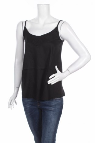 Γυναικείο αμάνικο μπλουζάκι Aniston, Μέγεθος XS, Χρώμα Μαύρο, Βισκόζη, Τιμή 3,34€