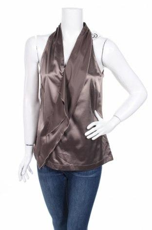 Γυναικείο αμάνικο μπλουζάκι Ann Taylor, Μέγεθος M, Χρώμα Γκρί, 96% πολυεστέρας, 4% ελαστάνη, Τιμή 7,61€