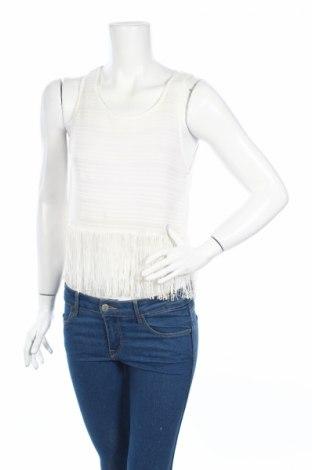 Γυναικείο αμάνικο μπλουζάκι H&M Divided, Μέγεθος S, Χρώμα Λευκό, Τιμή 2,63€