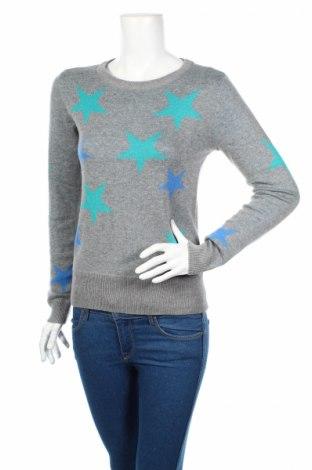 Дамски пуловер Ajc, Размер XXS, Цвят Сив, 50% памук, 50% полиакрил, Цена 19,14лв.