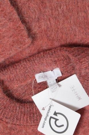 Дамски пуловер ASOS, Размер M, Цвят Розов, 46% акрил, 29% полиестер, 23% мохер, 2% еластан, Цена 64,50лв.