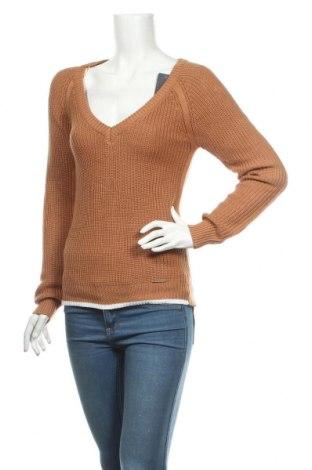 Дамски пуловер Complices, Размер S, Цвят Кафяв, 50% акрил, 50% памук, Цена 34,22лв.