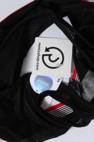 Дамски спортен топ Monki, Размер S, Цвят Черен, 82% полиамид, 18% еластан, Цена 3,06лв.