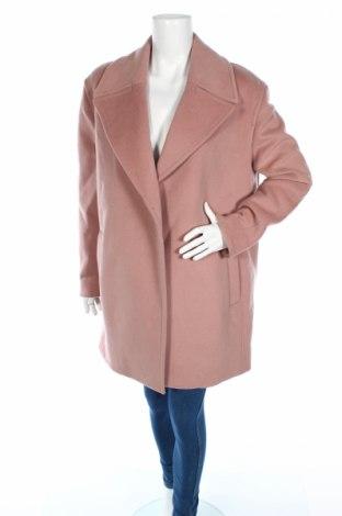 Дамско палто AllSaints, Размер L, Цвят Розов, 53% вълна, 47% полиестер, Цена 293,40лв.