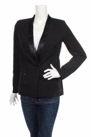 Γυναικείο σακάκι Nife, Μέγεθος M, Χρώμα Μαύρο, 60% πολυεστέρας, 35% βισκόζη, 5% ελαστάνη, Τιμή 12,78€