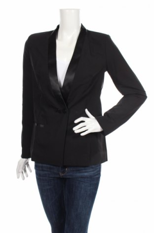 Dámské sako  Nife, Rozměr M, Barva Černá, 60% polyester, 35% viskóza, 5% elastan, Cena  360,00Kč