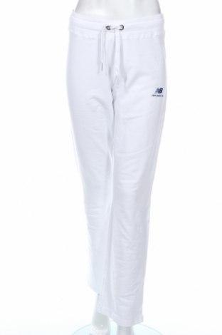 Dámske tepláky New Balance, Veľkosť M, Farba Biela, 95% bavlna, 5% elastan, Cena  23,09€