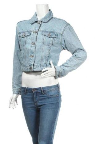 Dámska bunda  Bershka, Veľkosť XS, Farba Modrá, 100% bavlna, Cena  16,01€