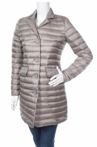Γυναικείο μπουφάν Geox, Μέγεθος XS, Χρώμα Γκρί, Φτερά και πούπουλα, πολυεστέρας, Τιμή 106,88€