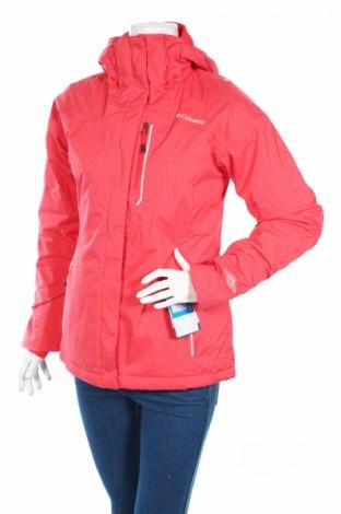 Дамско яке за зимни спортове Columbia, Размер S, Цвят Розов, 94% полиестер, 6% еластан, Цена 216,75лв.