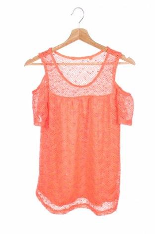 Детска блуза Here+There, Размер 15-18y/ 170-176 см, Цвят Оранжев, Полиестер, Цена 4,00лв.