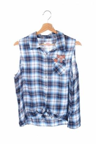 Детска риза Justice, Размер 15-18y/ 170-176 см, Цвят Многоцветен, Вискоза, Цена 3,75лв.