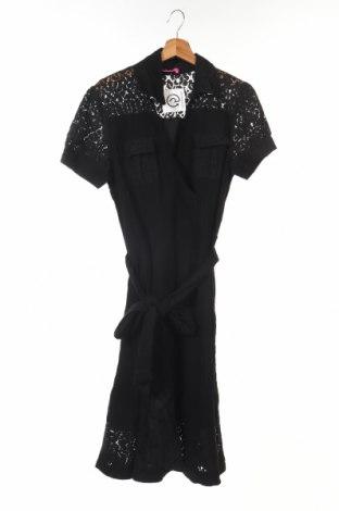 Детска рокля BCBGirls, Размер 14-15y/ 168-170 см, Цвят Черен, 86% вискоза, 14% полиамид, Цена 18,00лв.